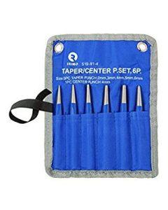 Koonustornide kmpl 6 osa - 2/3/4/5/6mm + kärn 4mm kotis Irimo
