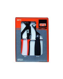 Santehniku tööriistade kmpl - tellitav võti 9072 P 250mm ja liugühendusega tangid 8224 250mm