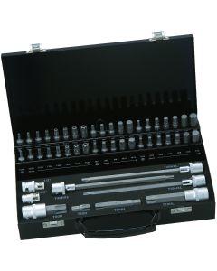 10mm otsakute kmpl 49 pcs Torx, HEX, XZN M