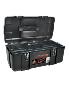 Plastikust tööriistakohver metallist lukustitega, 508x267x254mm Truper 10380
