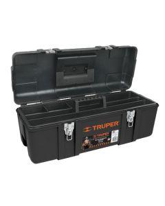 Plastikust tööriistakohver metallist lukustitega, 584x267x254 Truper 11506