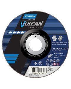 Lihvketas Norton Vulcan A30S 125x6.4x22.23 T27