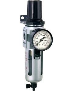 """Õhufilter-regulaator 0,5-10 bar 1/2"""" max 3200 l/min Irimo"""