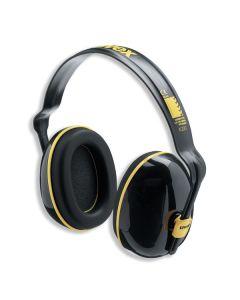 Kõrvaklapid Uvex K200. SNR: 28dB, must/kollane. Dielektriline