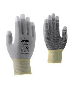 Töökindad Uvex Unipur Carbon mikrotäppidega, antistaatilised, suurus 9