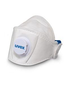 Tolmumask UVEX silv-Air 5110+ Premium FFP1 volditav, klapiga, suurema suurusega
