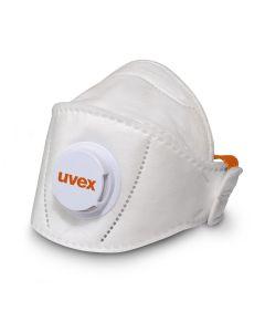 Tolmumask UVEX silv-Air 5210+ Premium FFP2 volditav, klapiga, suurema suurusega